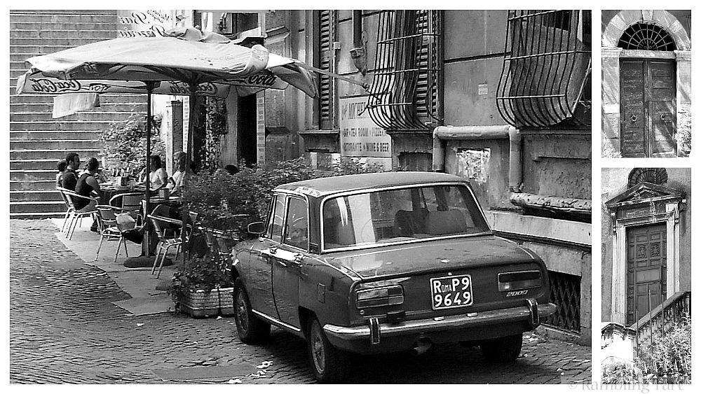 old car in Rome