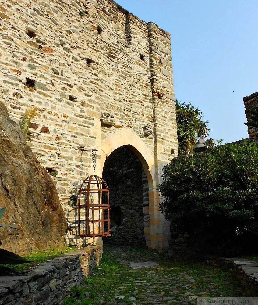 Visconti Castle gate