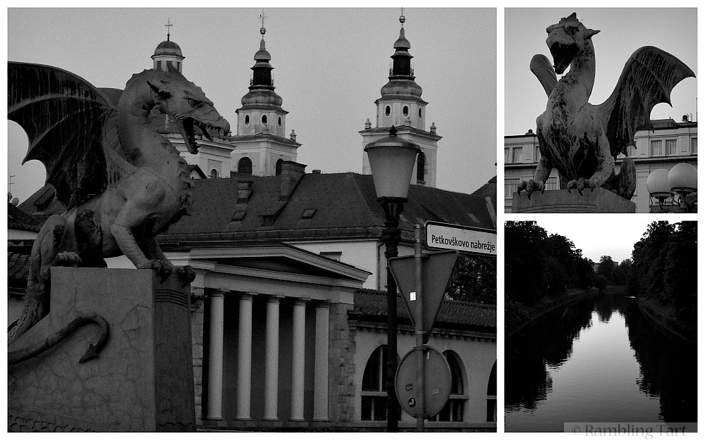 Ljubljana Dragon Bridge