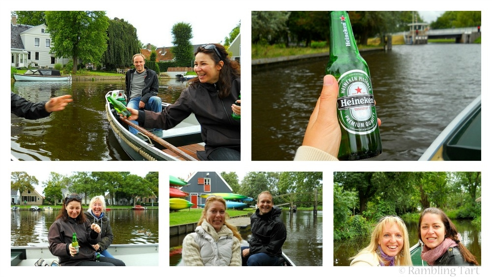 canal boat party