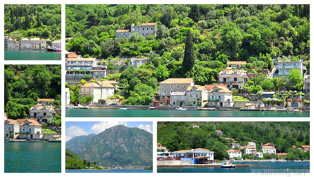 lakeside villas in Montenegro