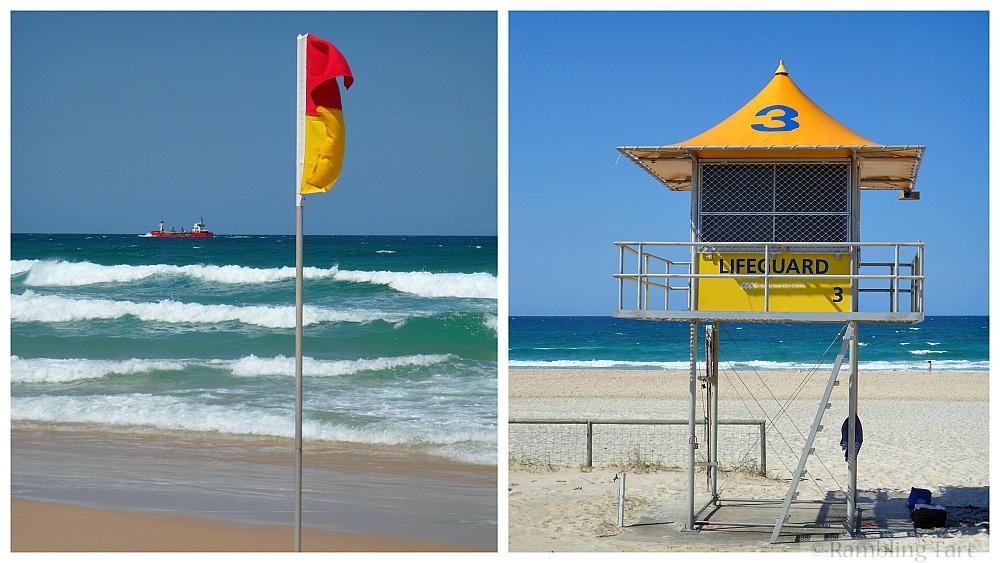 Gold Coast lifeguard station