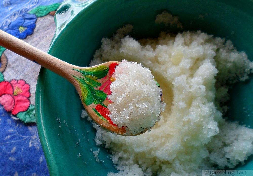 spoonful of sugar scrub