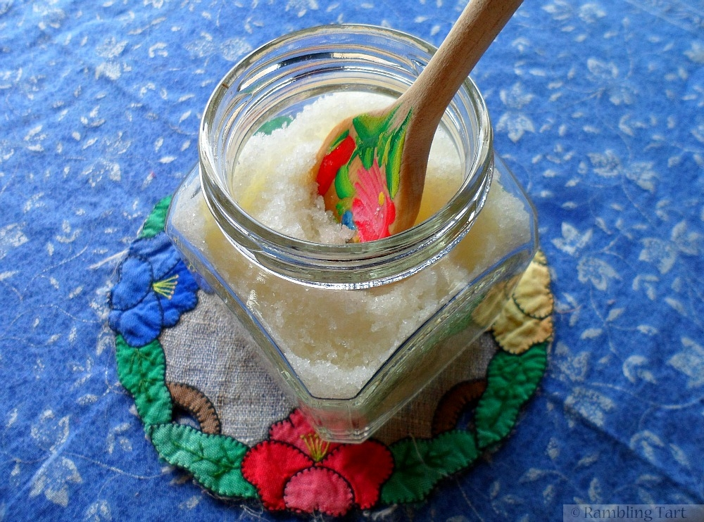 jar of body sugar