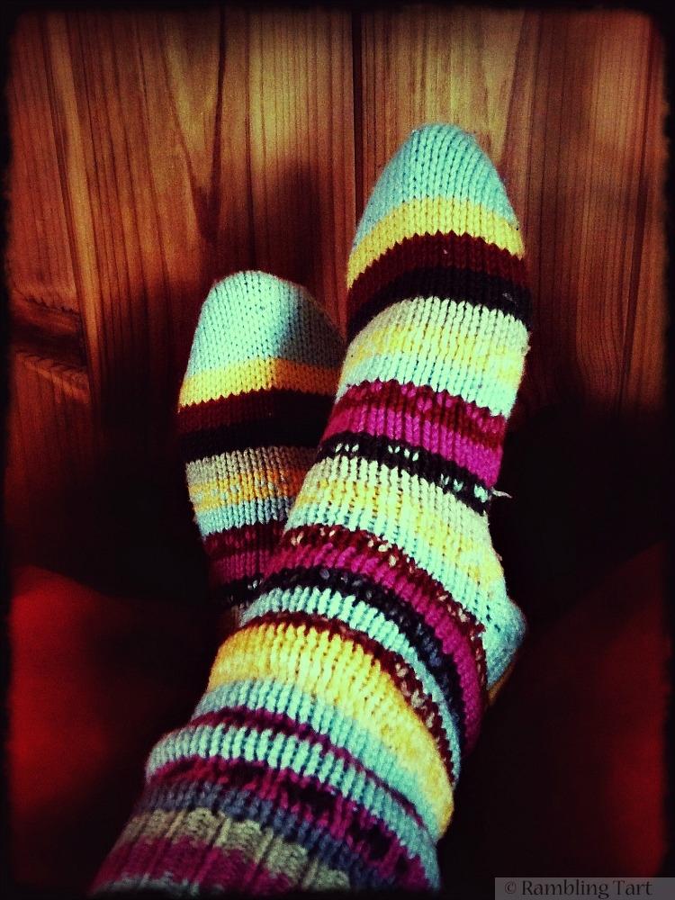 Nordic wool socks
