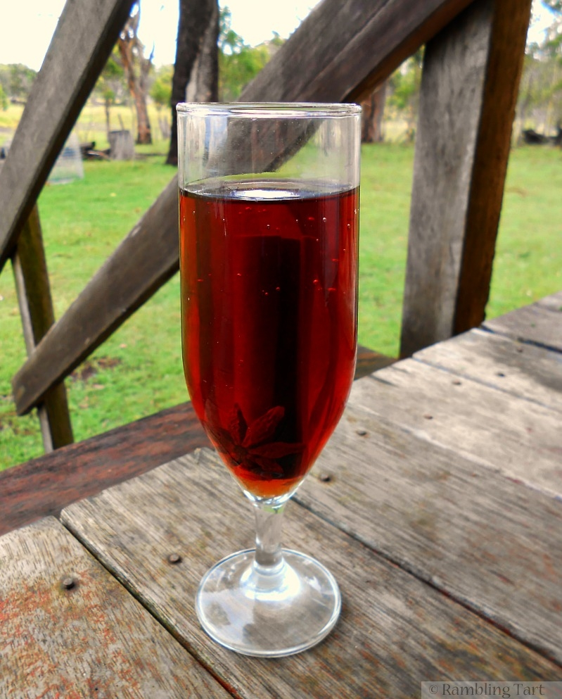 black currant cider