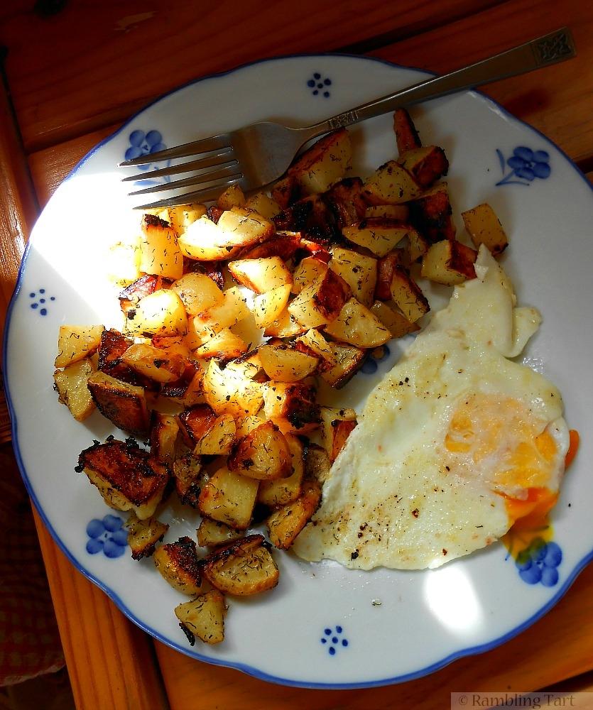 sunny farm breakfast