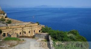 Corfu ruins