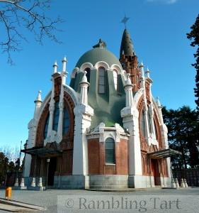 La capilla del Cementerio de la Almudena