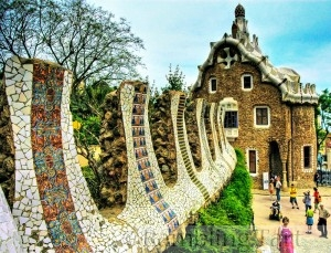 Barcelona Park Güell photo by Wolfgang Staudt