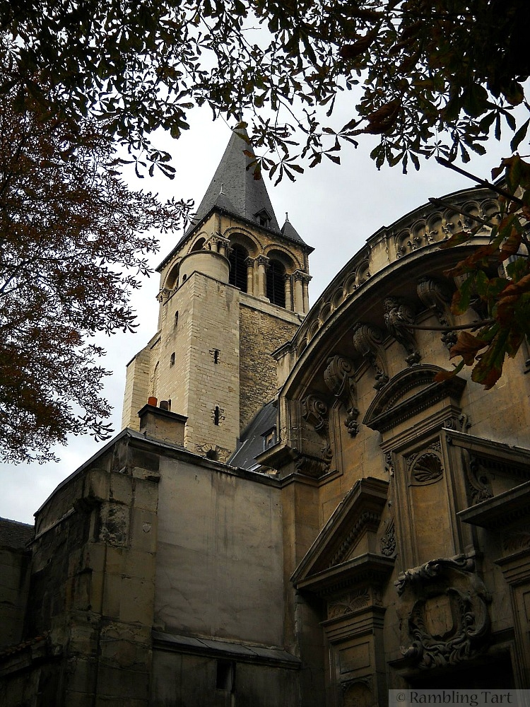 Paris church tower