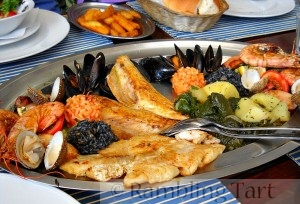 Greek seafood