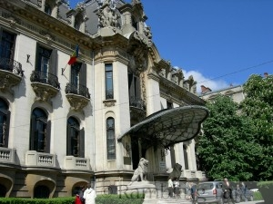 George Enescu Museum (Cantacuzino Palace) by Joe Mabel