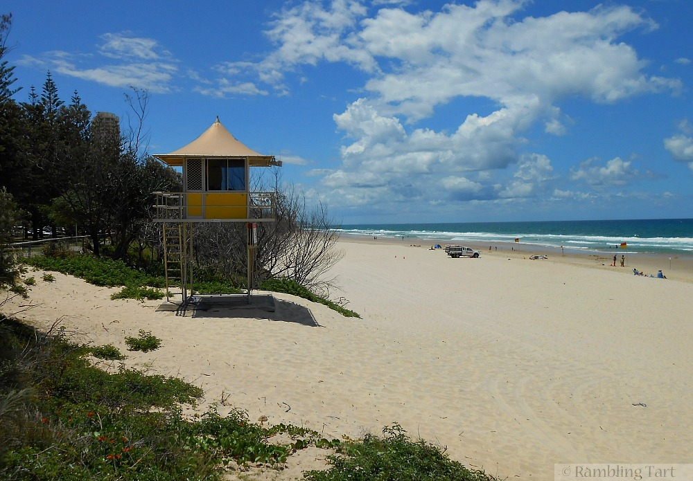 Burleigh Heads lifeguard station