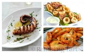 Greek Seafood Meze