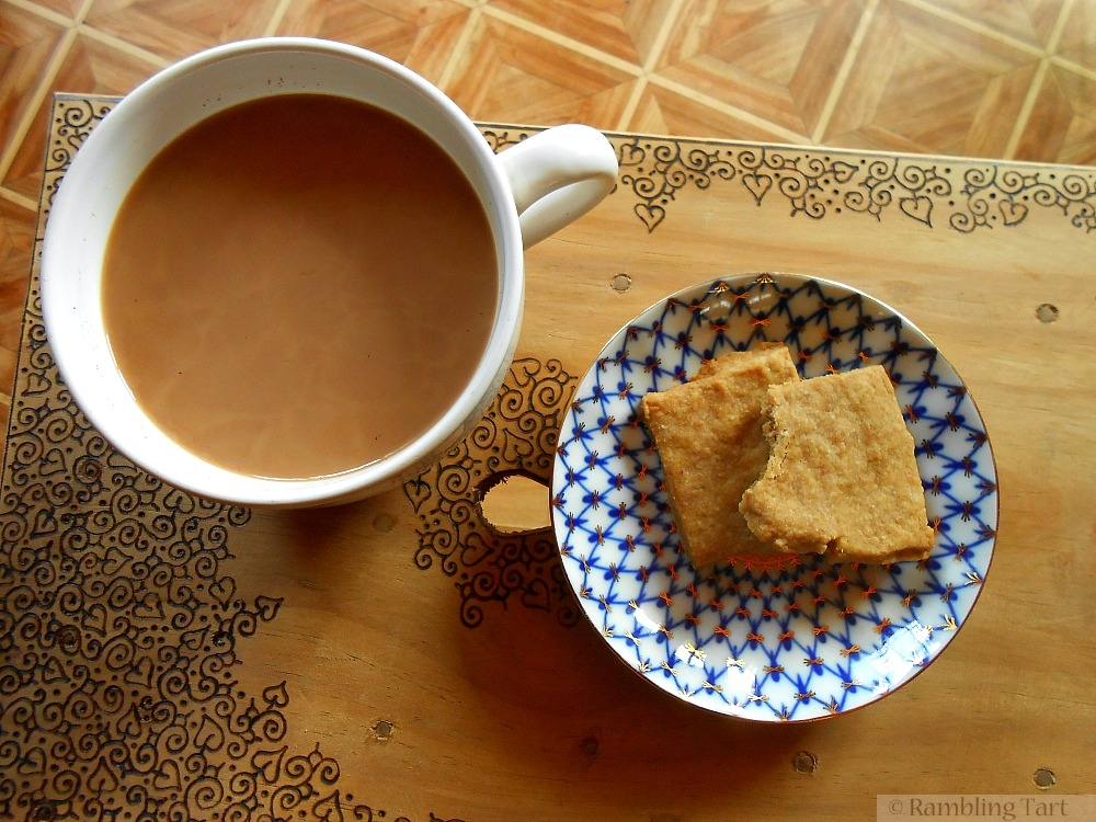 coffee and shortbread