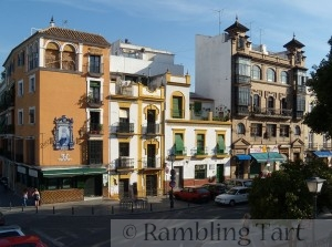 La Plaza del Altozano de Sevilla, en el barrio de Triana by Gzzz
