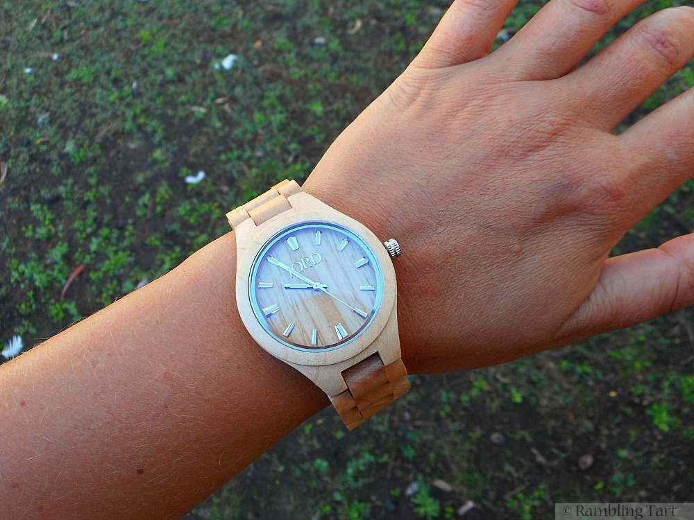 Jord maple wood watch