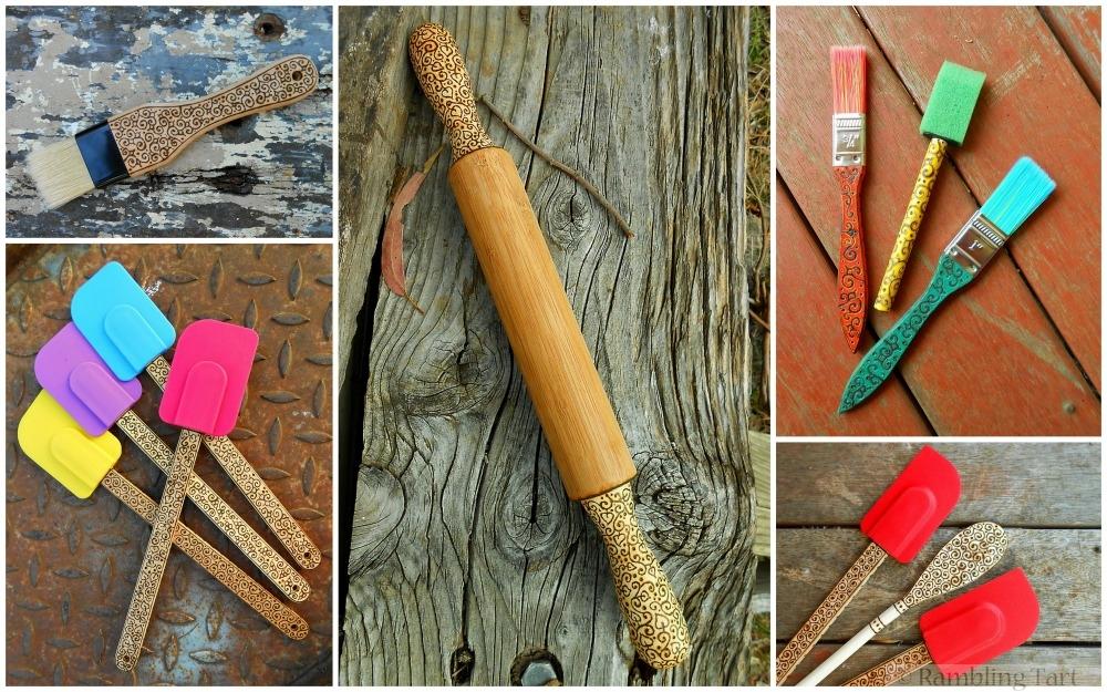 Rambling Tart wood-burning