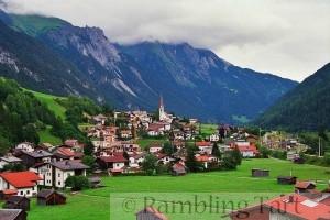 Austrian alpine village