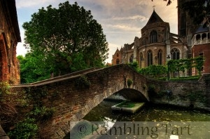 Bridge to the Church of our Lady by Wolfgang Staudt