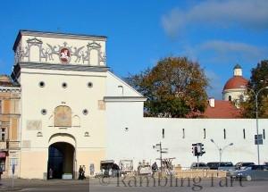 Aušros Vartai (Gate of Dawn) in Vilnius old town by Umnik