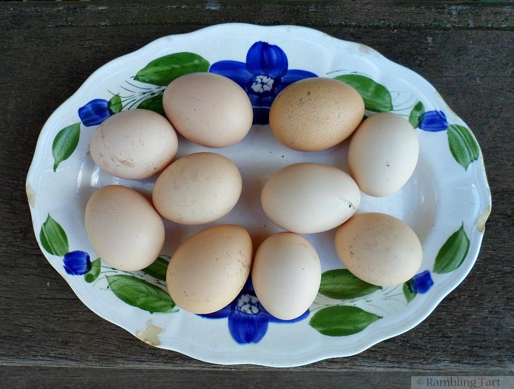 platter of eggs