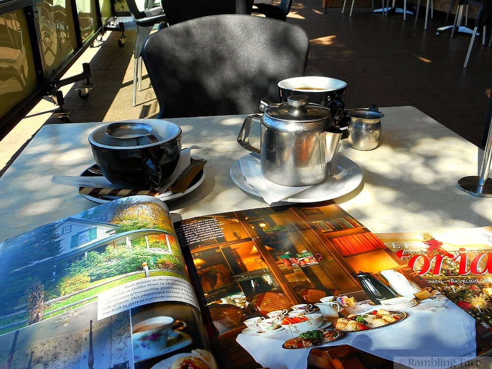 cuppas and magazines