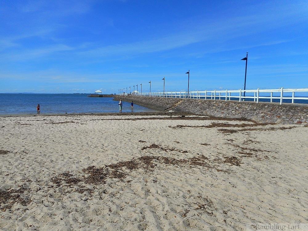 Wynnum beach