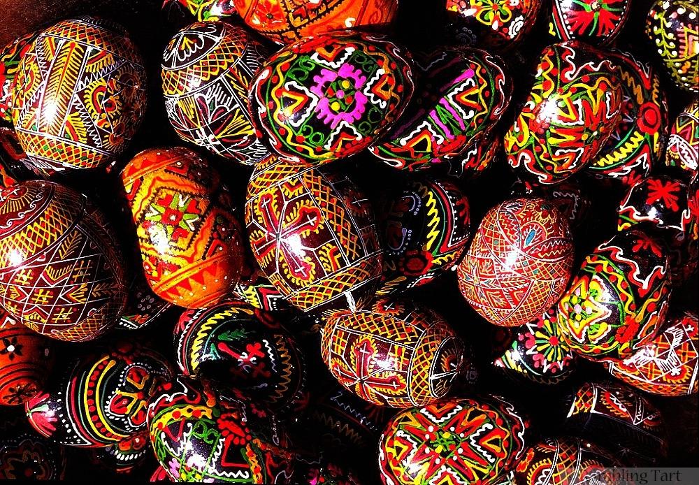 Easter eggs in Greece by Reinhard Kirchner
