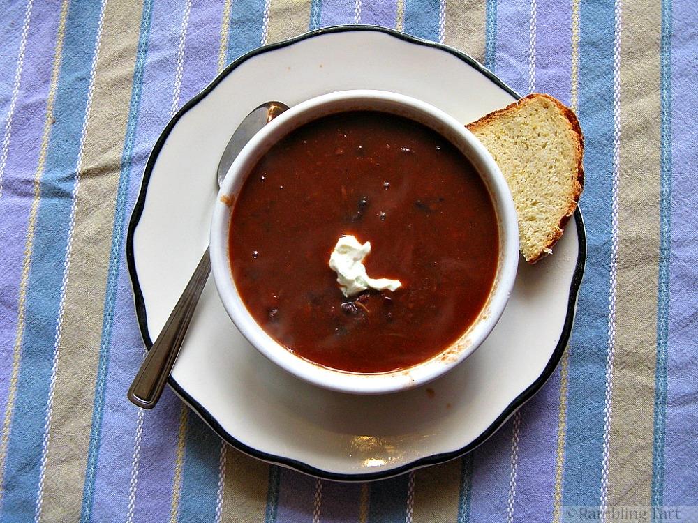 Black bean soup by newton64