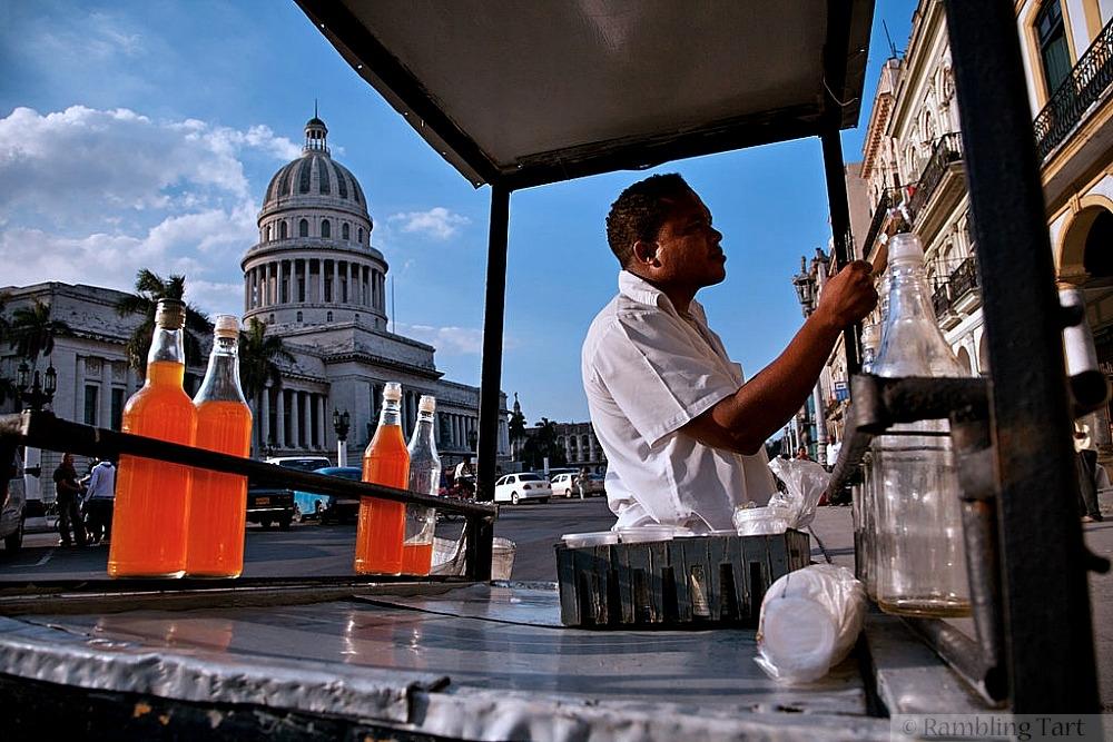 Cuban drink cart by Jorge Royan