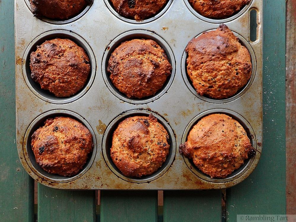 Spelt Quinoa Muffins
