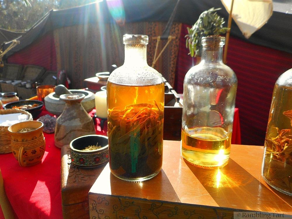 medieval medicine bottles