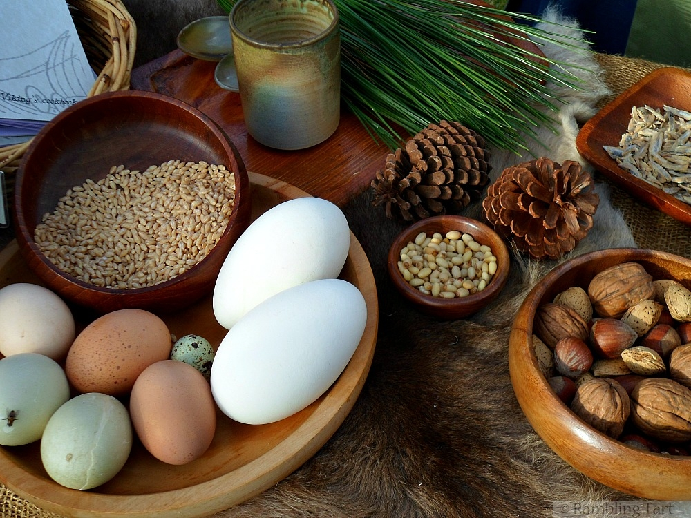 medieval eggs and nuts