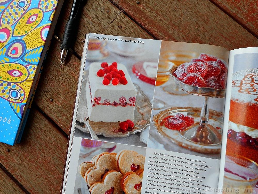 desserts in Victoria magazine