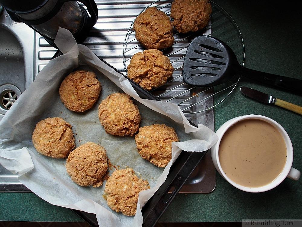 spelt cheddar dill scones