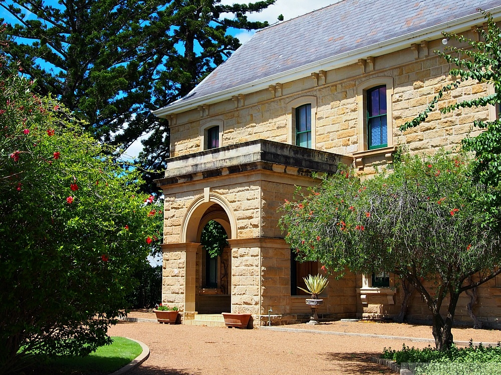 Jimbour House side entrance