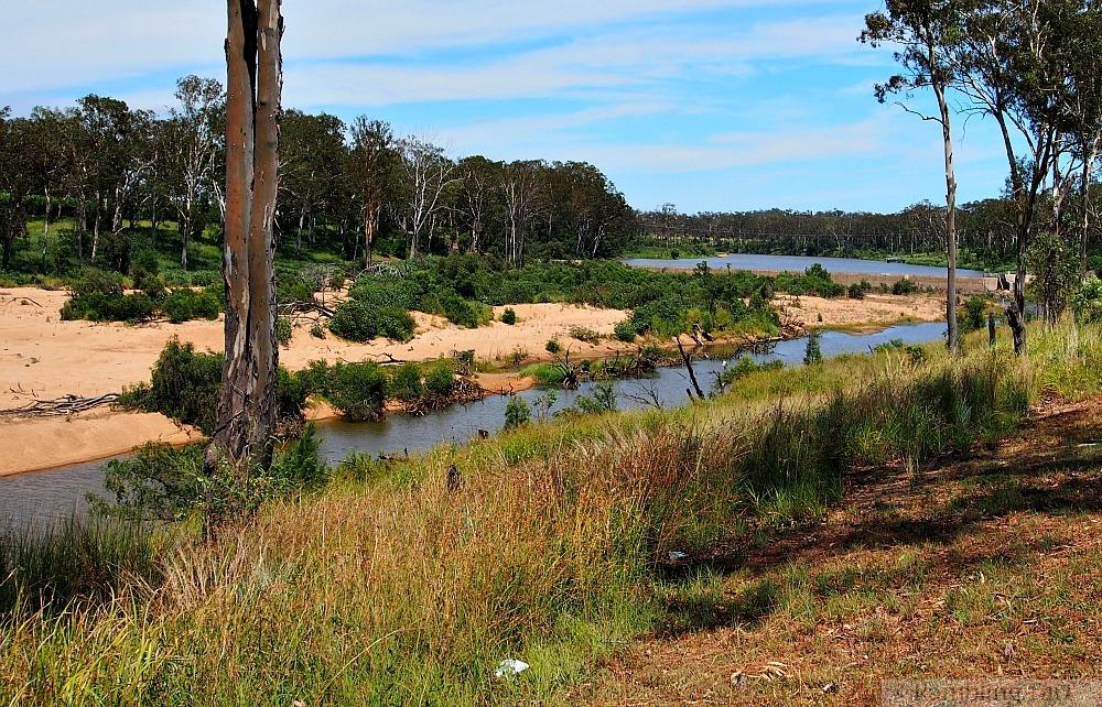 Burnett River Mundubbera