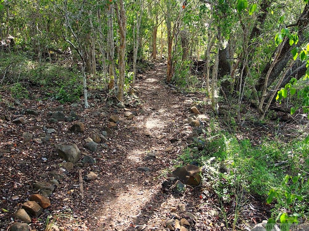 hiking trail Mount Scoria