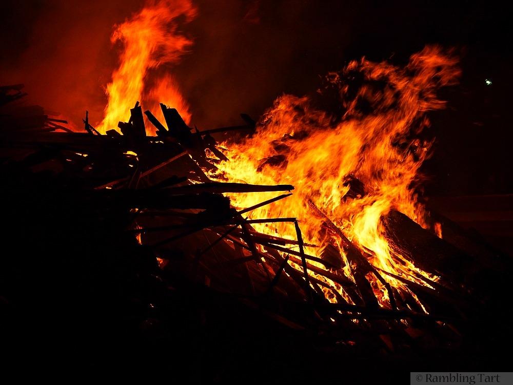 Killarney bonfire
