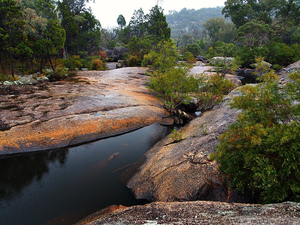 water pools at Girraween National Park